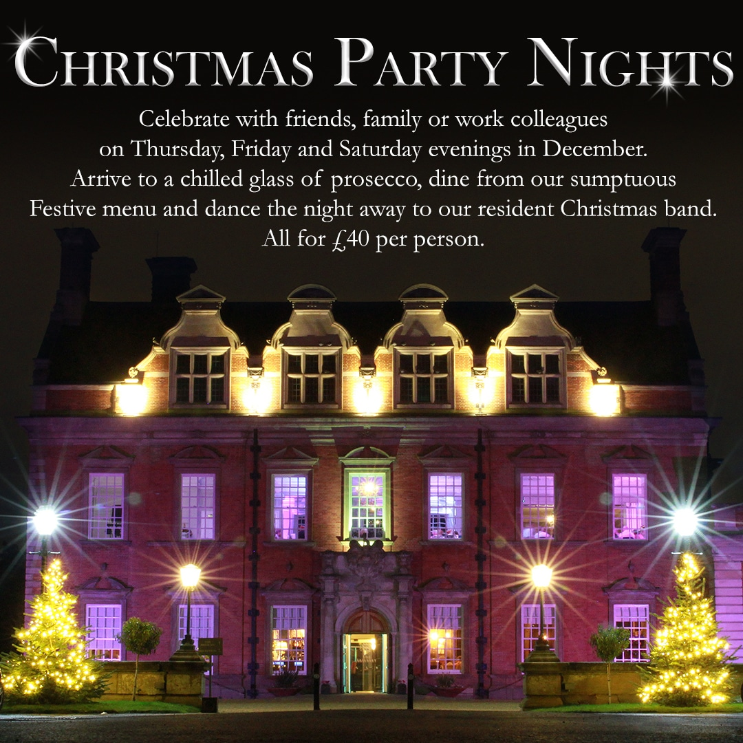 Christmas Parties at Acklam Hall Middlesbrough